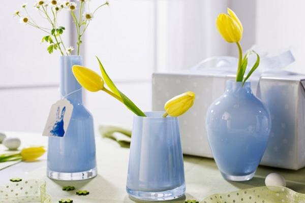 Haal de lente in huis met vazen