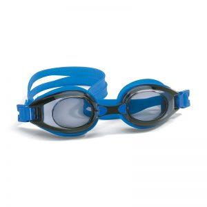 Zwembril op sterkte blauw