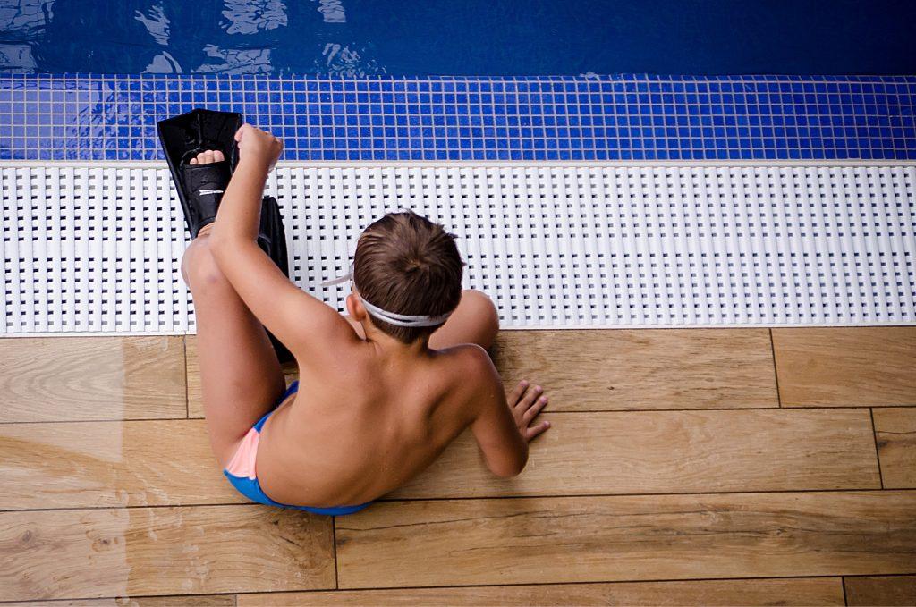 Zwembril op sterkte Kind zwembad