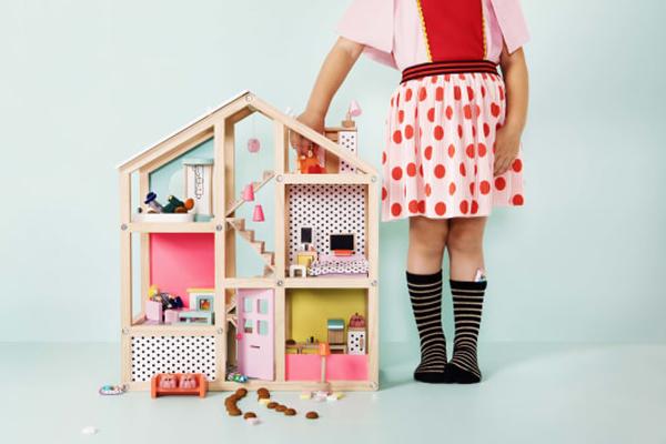 HEMA poppenhuis
